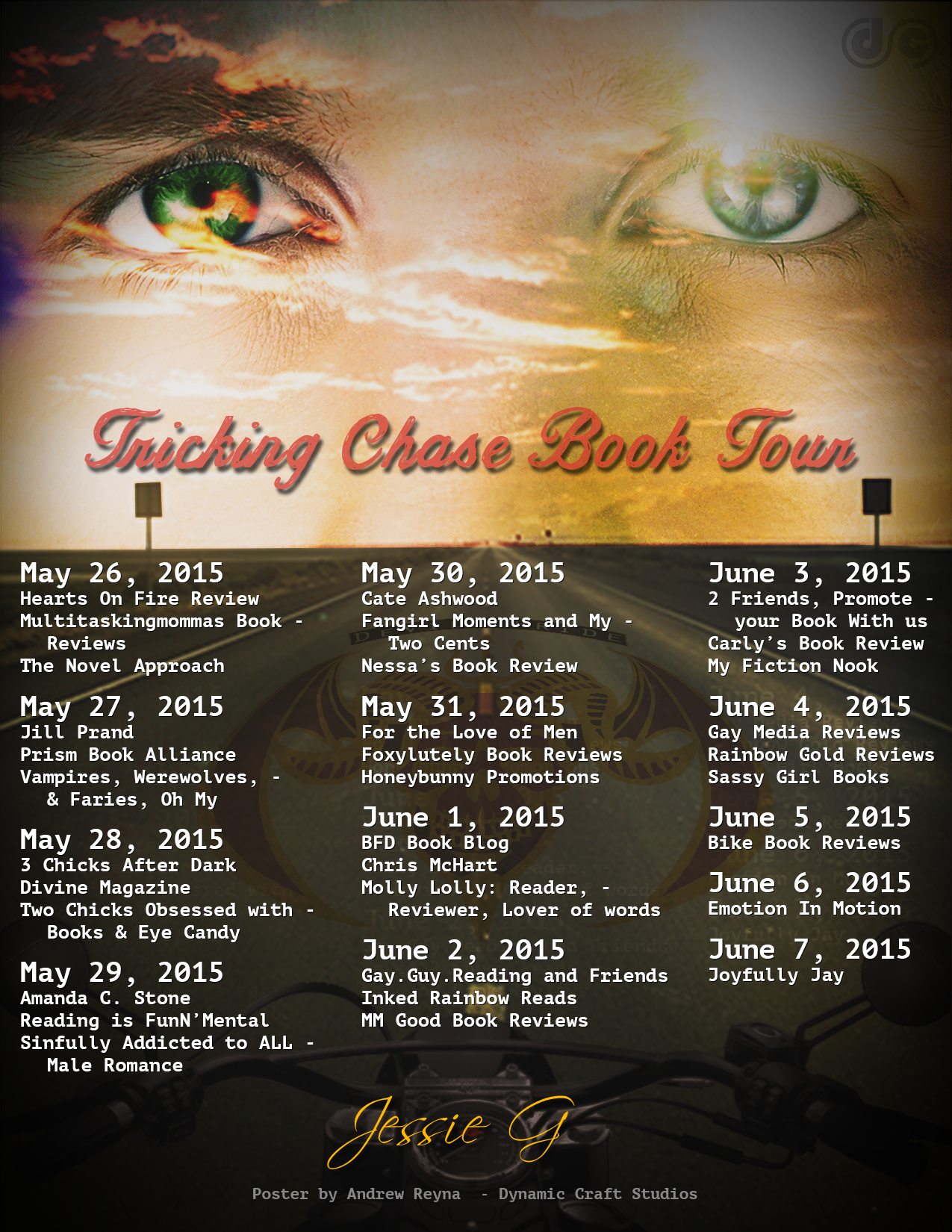 Tricking Chase Book Tour
