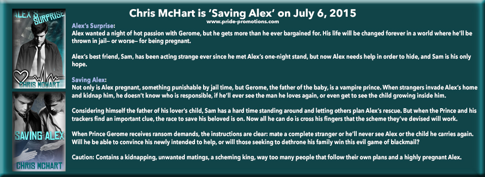 Alex's Surprise & Saving Alex by Chris McHart