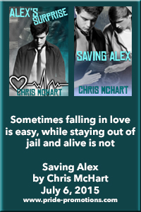 Alex's Surprise & Saving Alex by Chris McHart Blog Tour