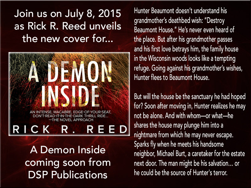 COVER REVEAL: A Demon Inside by Rick R. Reed