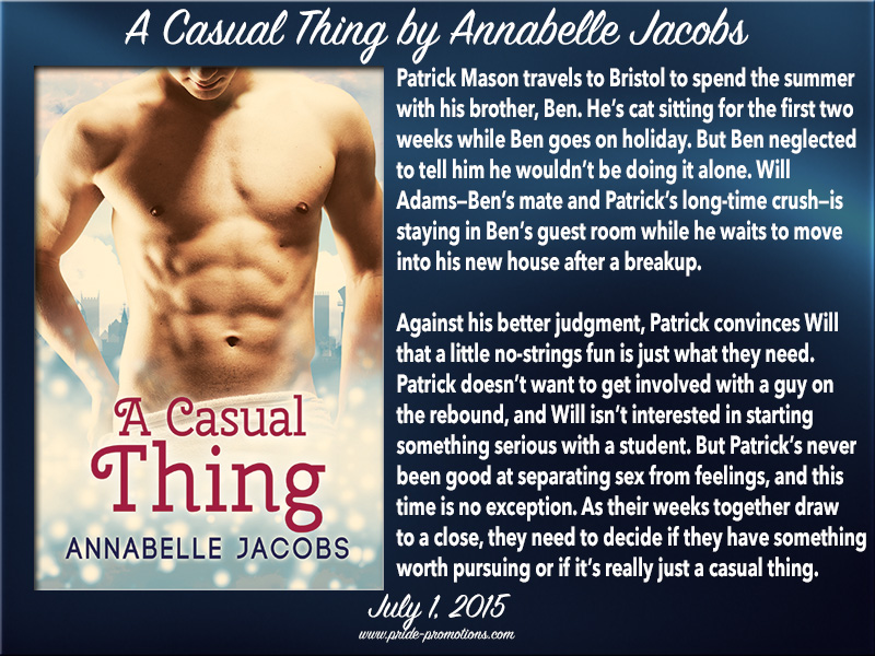 A Casual Thing by Annabelle Jacobs Blog Tour