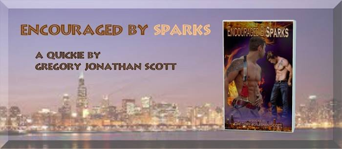 Encouraged By Sparks – A Quickie by Gregory Jonathan Scott