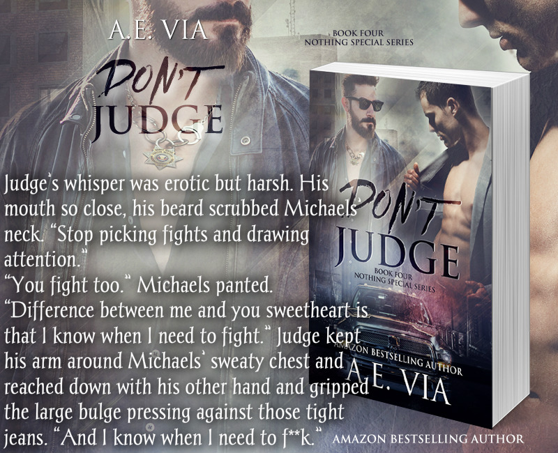 BLOG TOUR: Don't Judge by A.E. Via