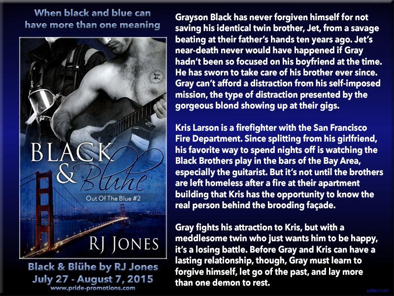 BLOG TOUR: Black and Bluhe by RJ Jones