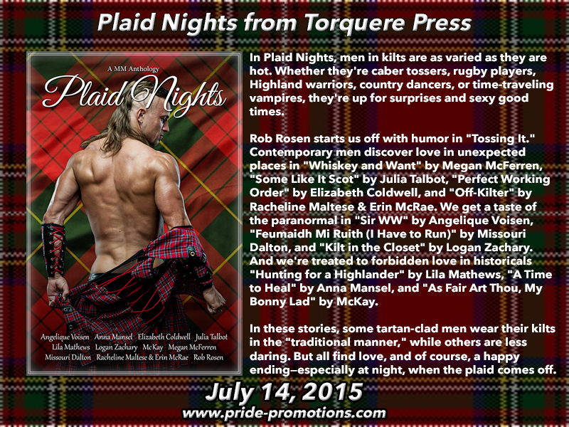 BLOG TOUR: Plaid Nights Anthology by Torquere Press