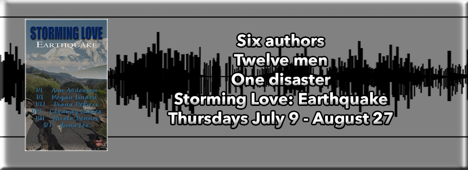 BLOG TOUR: Earthquake - Storming Love by MLR Press