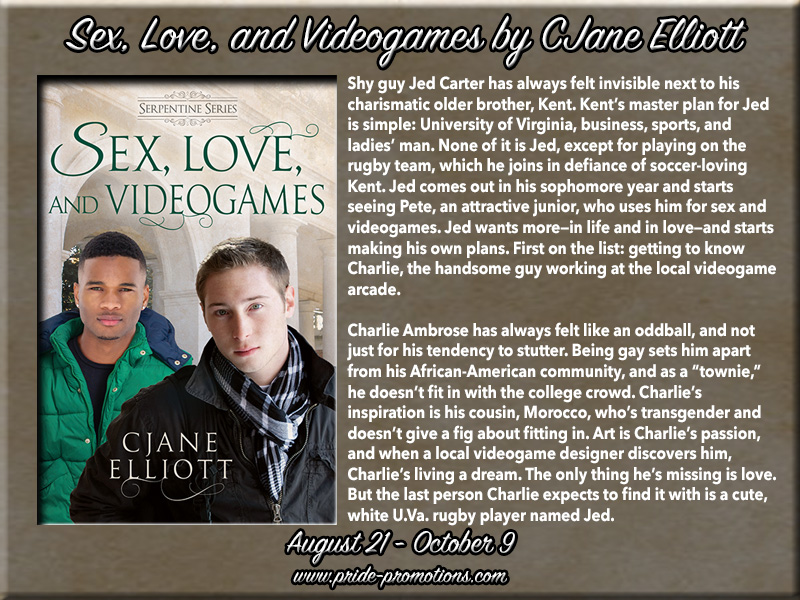 BLOG TOUR: Sex, Love, and Videogames by CJane Elliott