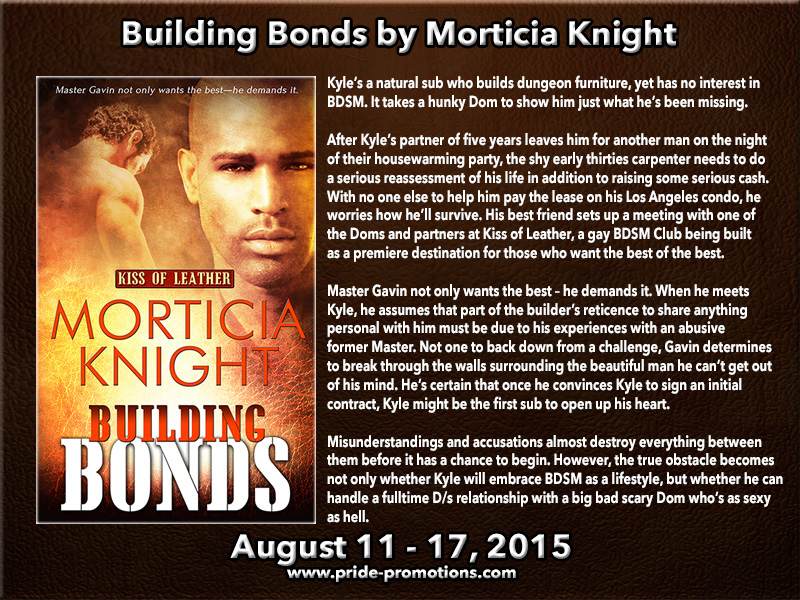 BLOG TOUR: Building Bonds by Morticia Knight