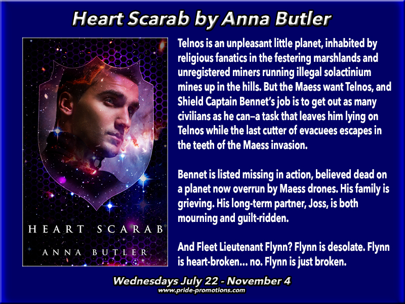 BLOG TOUR: Heart Scarab by Anna Butler