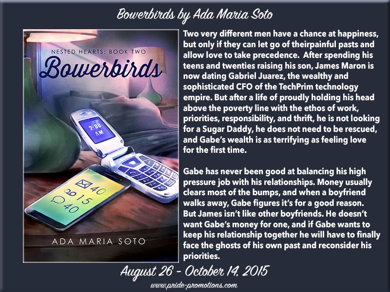 BLOG TOUR: Bowerbirds by Ada Maria Soto