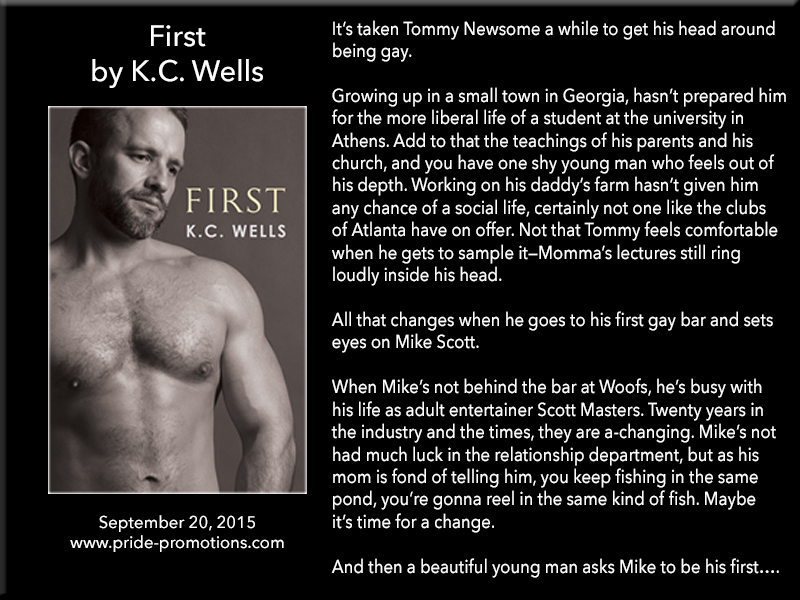 BLOG TOUR: First by K.C. Wells