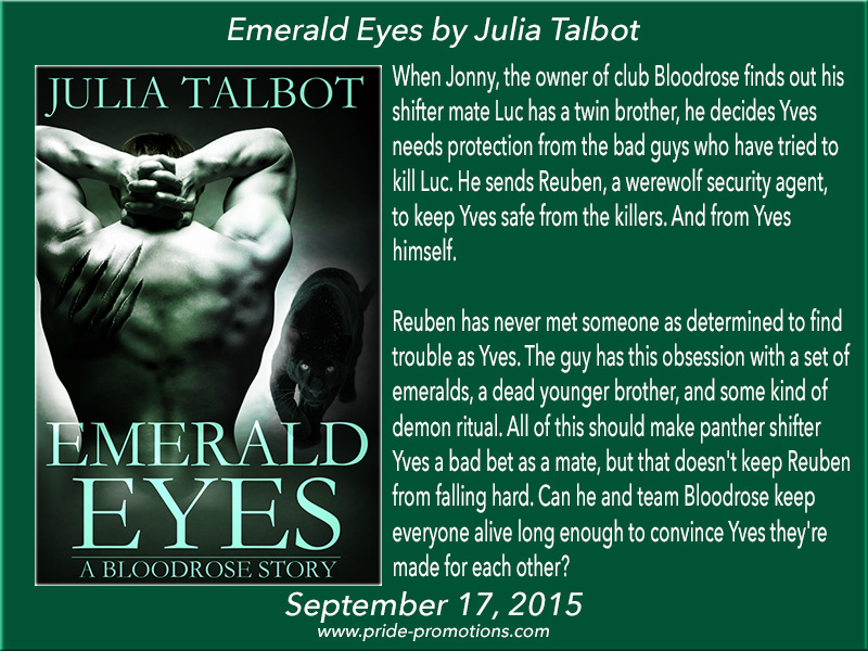BLOG TOUR: Emerald Eyes by Julia Talbot