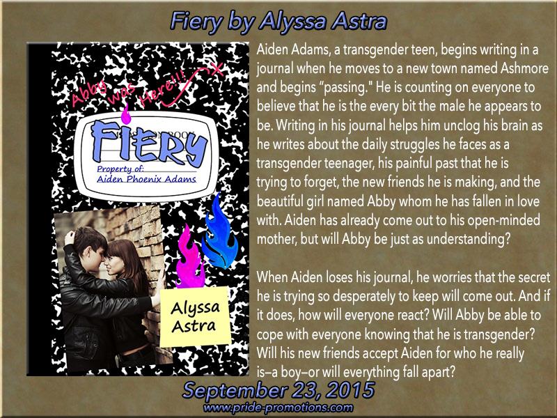 BLOG TOUR: Fiery by Alyssa Astra