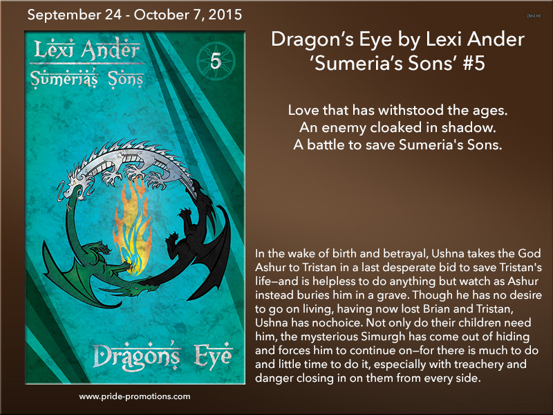 BLOG TOUR: Dragon's Eye by Lexi Ander