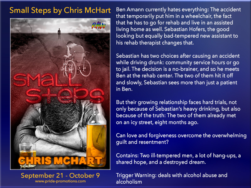 BLOG TOUR: Small Steps by Chris McHart