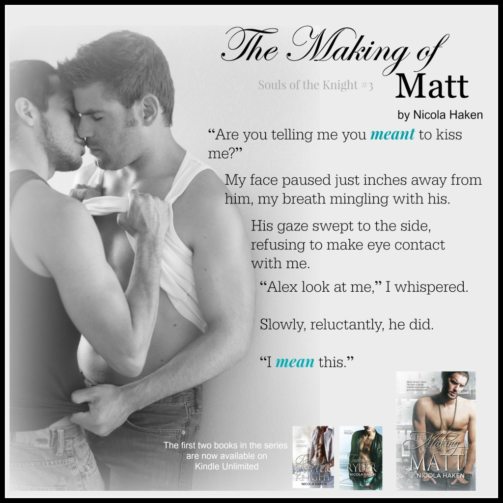 Get The Making of Matt by Nicola Haken Exclusively on Amazon & Kindle Unlimited