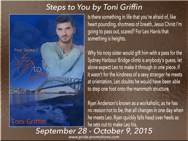 BLOG TOUR: Steps to You by Toni Griffin