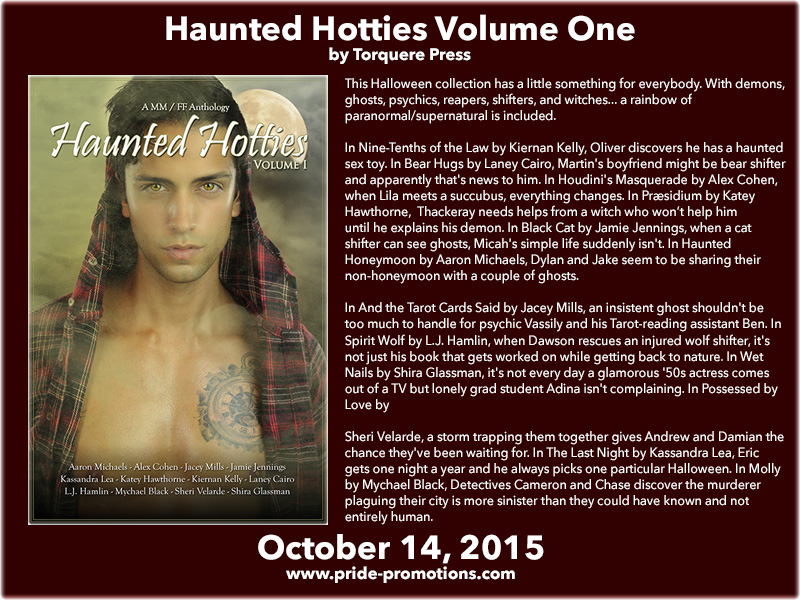 BLOG TOUR: Haunted Hotties Volume 1 Anthology by Torquere Press