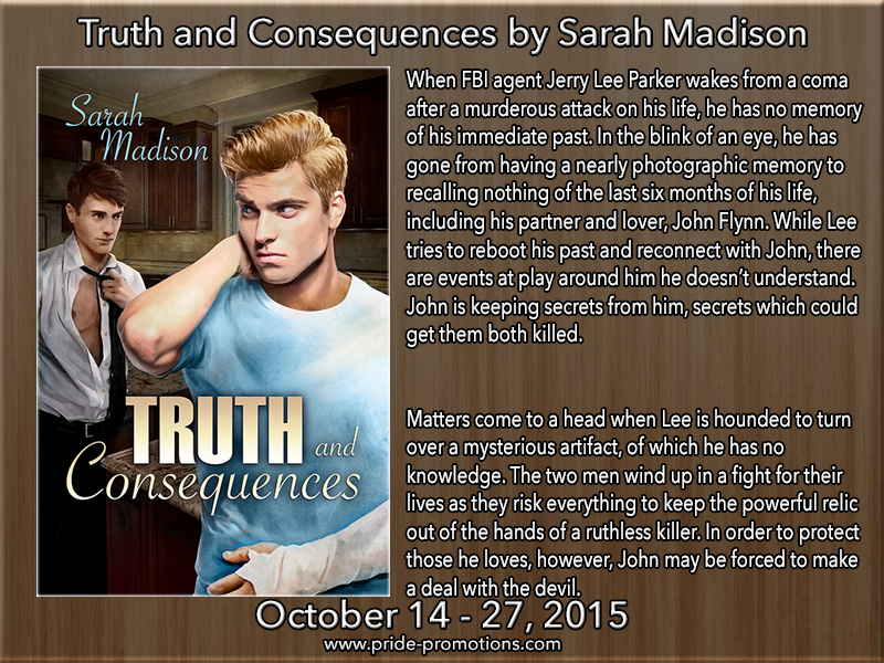 BLOG TOUR: Truth and Consequences by Sarah Madison