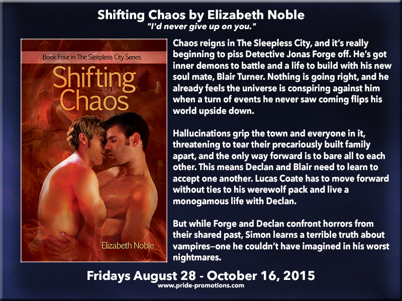 BLOG TOUR: Shifting Chaos by Elizabeth Noble