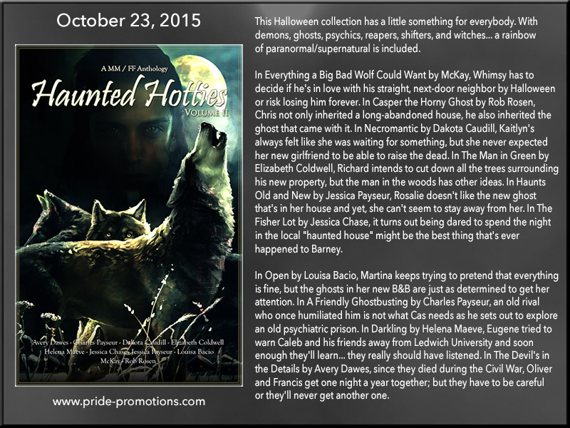 BLOG TOUR: Haunted Hotties Volume II