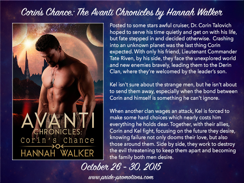 BLOG TOUR: Corin's Chance By Hanna Walker