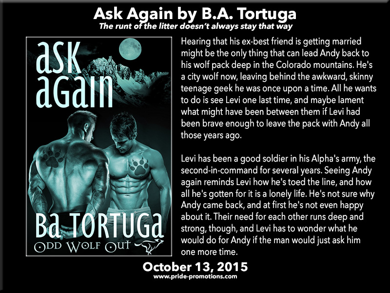 BLOG TOUR: Ask Again by B.A. Tortuga