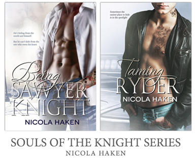 Click to get the Souls of the Knight Series on Amazon