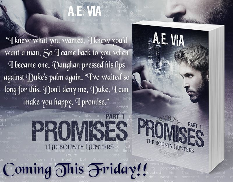 BLOG TOUR: Promises by A.E. Via