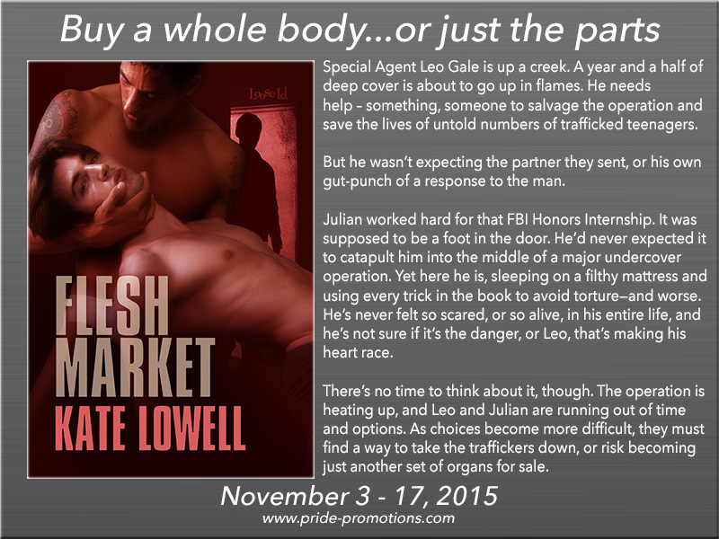 BLOG TOUR: Flesh Market by Kate Lowell