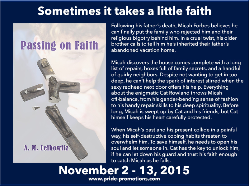 BLOG TOUR: Passing on Faith by A.M. Leibowitz