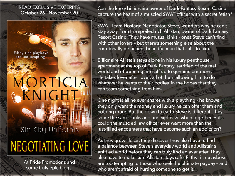 BLOG TOUR: Negotiating Love by Morticia Knight