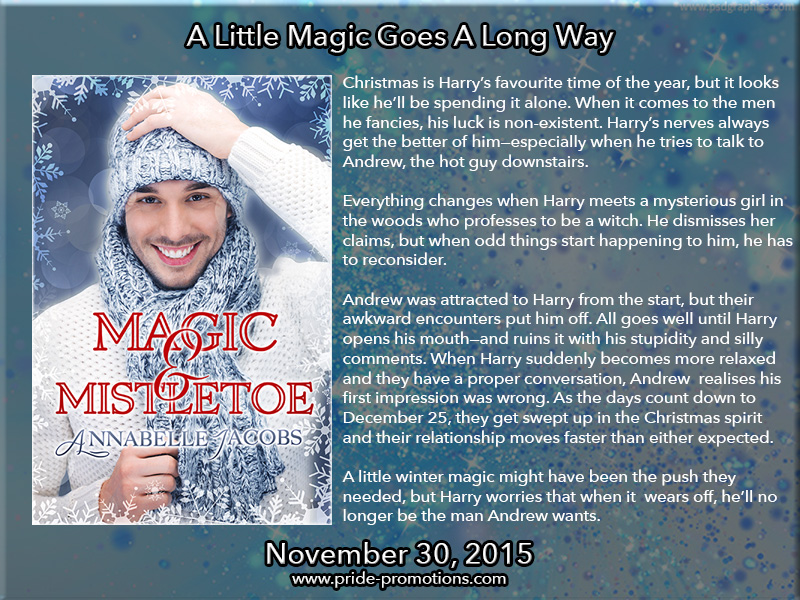 BOOK BLAST: Magic & Mistletoe by Annabelle Jacobs