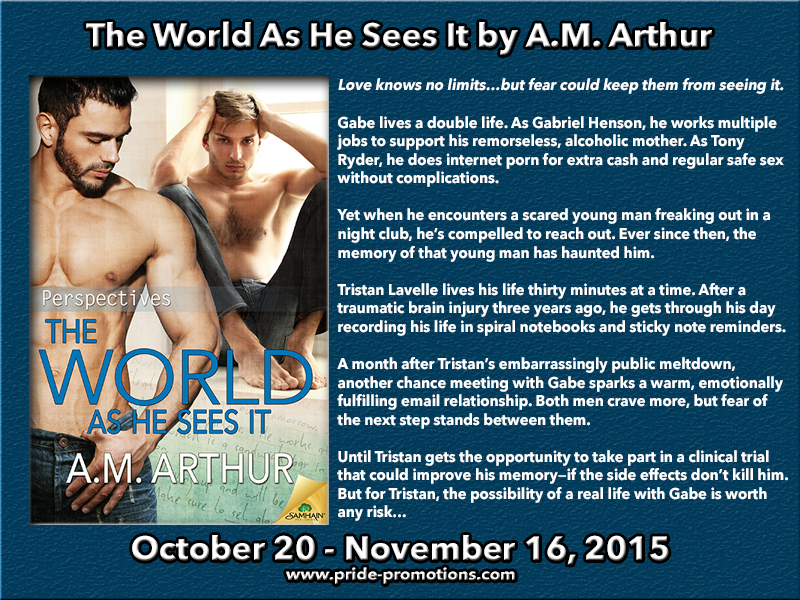 BLOG TOUR: The World As He Sees It by A.M. Arthur