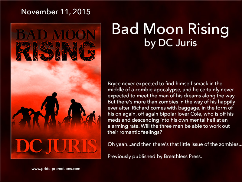 BOOK BLAST: Bad Moon Rising by DC Juris