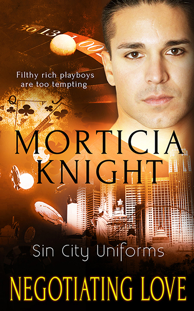 Buy Negotiating Love by Morticia Knight on Amazon