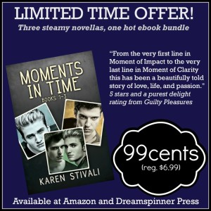 Buy 3 Moments in Time Novellas for $0.99