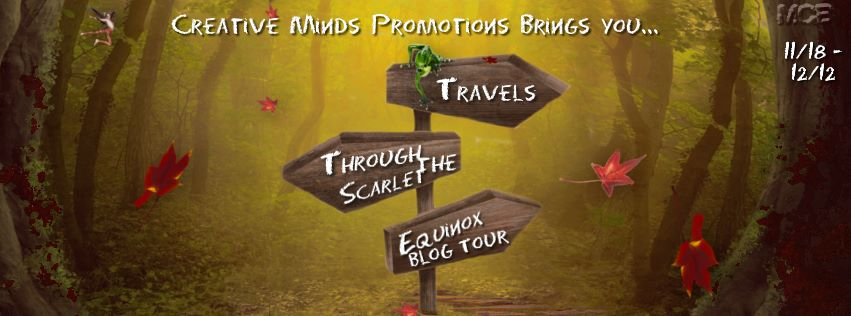 Buy Travels Through The Scarlet Equinox on Amazon