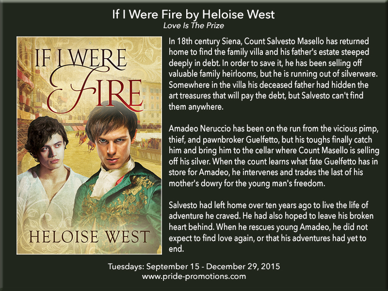 BLOG TOUR: If I Were Fire by Heloise West