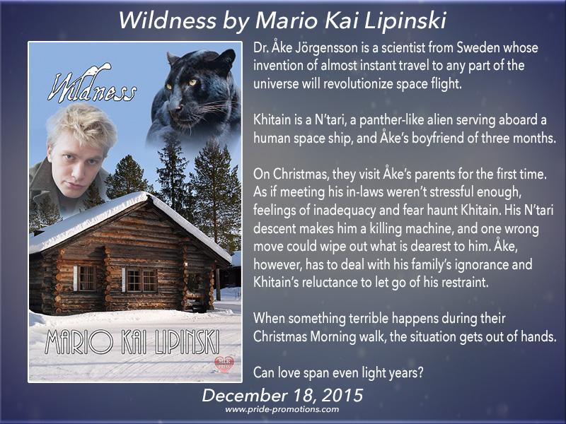 BOOK BLAST: Wildness by Mario Kai Lipinski
