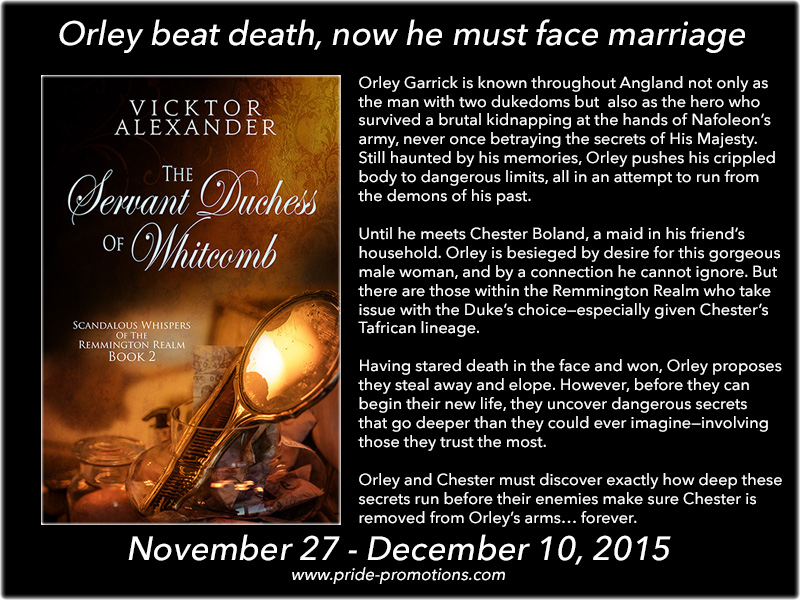 BLOG TOUR: The Servant Duchess of Whitcomb by Vicktor Alexander