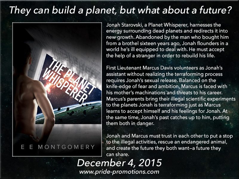 BOOK BLAST: The Planet Whisperer by E E Montgomery