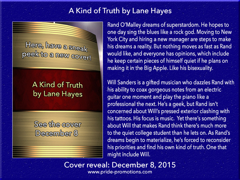 COVER REVEAL: A Kind of Truth by Lane Hayes