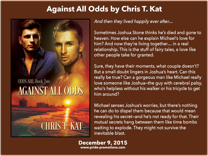 BOOK BLAST: Against All Odds by Chris T. Kat