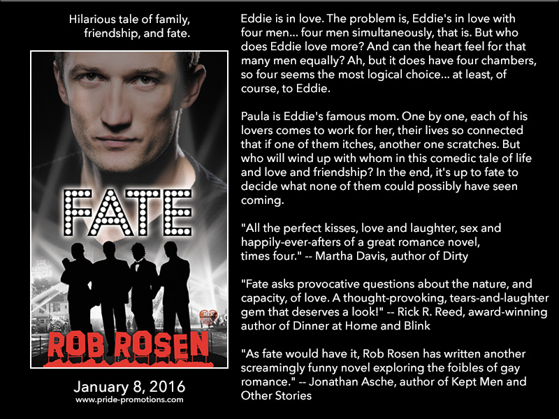 BOOK BLAST: Fate by Rob Rosen