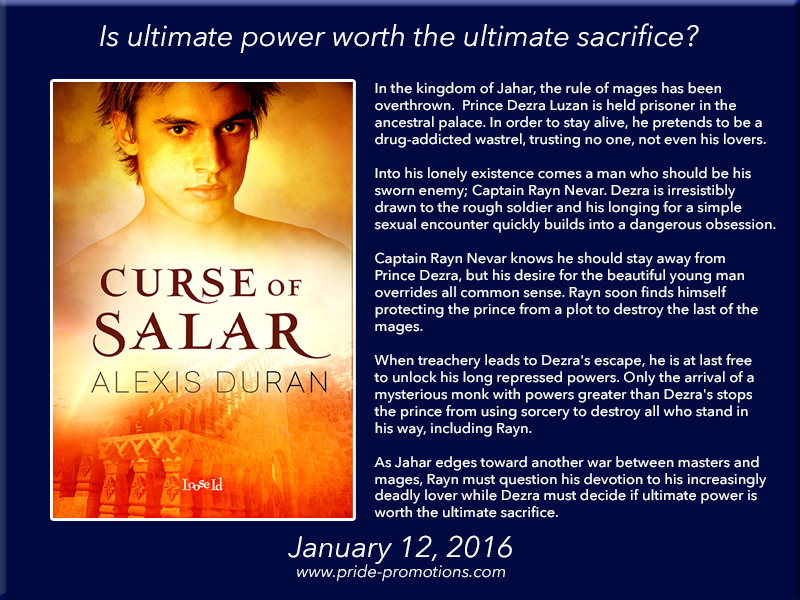 BOOK BLAST: Curse of Salar by Alexis Duran