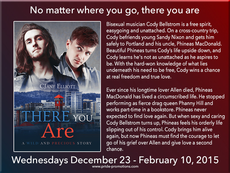 BLOG TOUR: There You Are by CJane Elliott