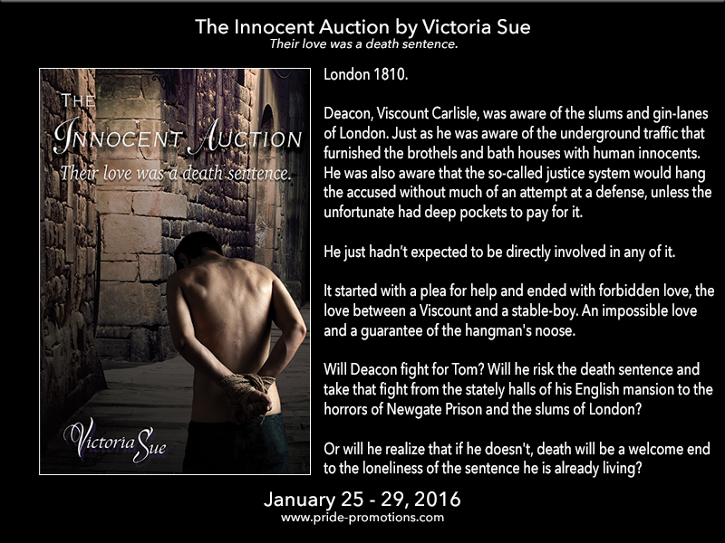 BLOG TOUR: The Innocent Auction by Victoria Sue