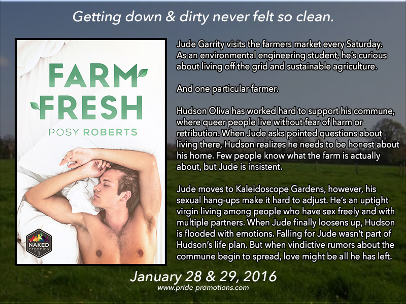 BLOG TOUR: Farm Fresh by Posy Roberts