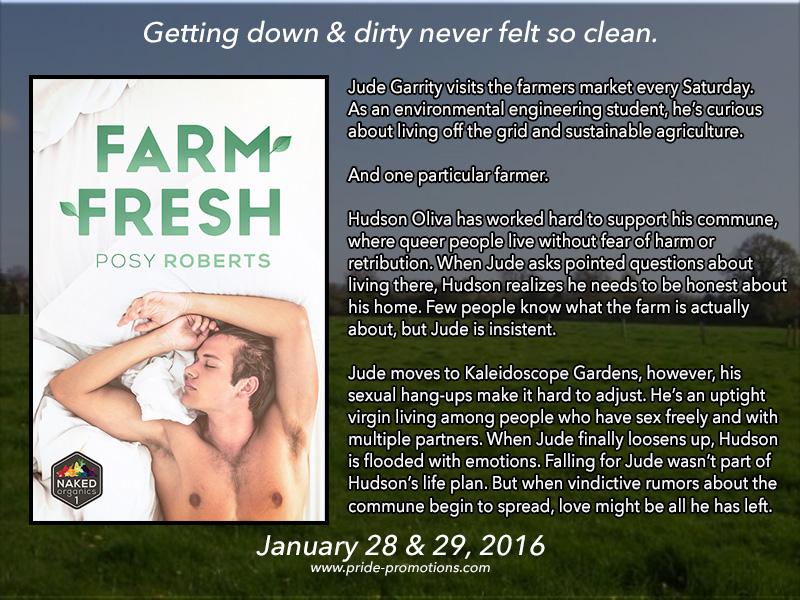 BLOG TOUR: Farm Fresh by Posy Roberts